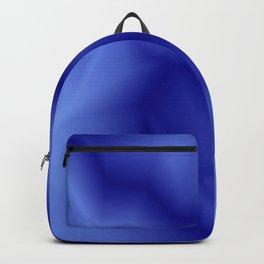 Pastel lines of blue lightning with a vintage gap. Backpack