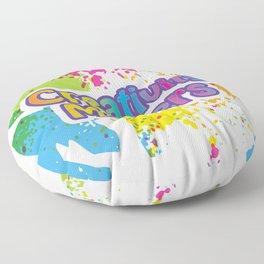 Creativity Matters Floor Pillow