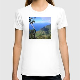 Hawaiian Treasure: Kalalau Lookout on Kauai Island T-shirt