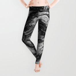 Shapes in wood. Leggings