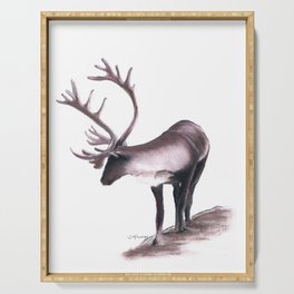 Lone Caribou Serving Tray