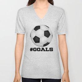 #Goals Unisex V-Neck