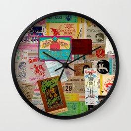 Ticket Stubs Concert Junkie - The Dead Wall Clock