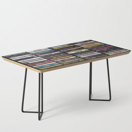 Old 80's & 90's Hip Hop Tapes Coffee Table