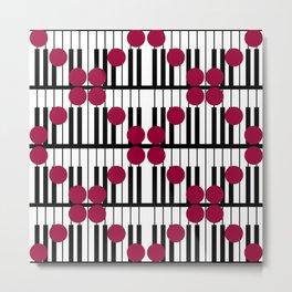 PIANO DOTS TTY N19 Metal Print