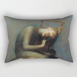 George Frederic Watts - Hope Rectangular Pillow