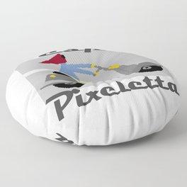 Vespa Pixeletta Floor Pillow