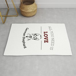 All You Need Is Love and a German Shephard Rug