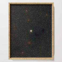 Hubble Space Telescope - Wide-field view of Messier 9 Serving Tray
