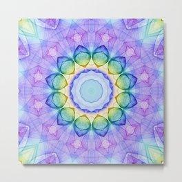 Mandala - Imagination Metal Print