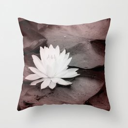 Lily Pad  Photo Bomber Throw Pillow