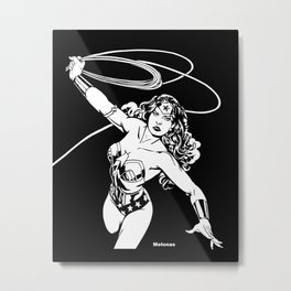 warrior princess / Challenge of the Goddess by Peter Melonas Metal Print