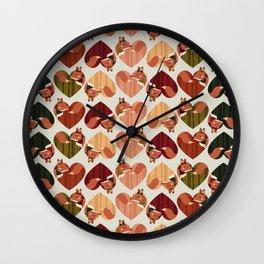 renardes Wall Clock