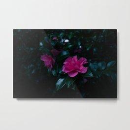 Dark flowers I Metal Print