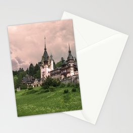 Peles Castle Romania Stationery Cards