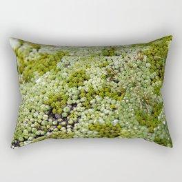 wonderful moss Rectangular Pillow