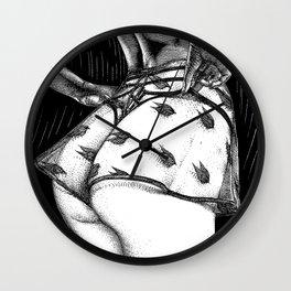 asc 936 - Le vague à l'âme (As restless as a wave) Wall Clock