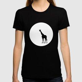 Giraffe and Moon TEE T-shirt