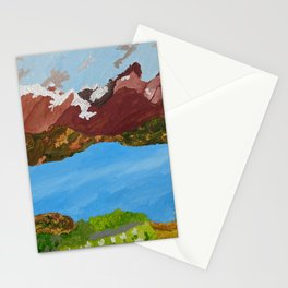 Torres Del Paine national park Chile Stationery Cards