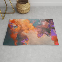 Colorful sky & clouds Rug
