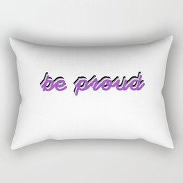 Asexual Pride Rectangular Pillow