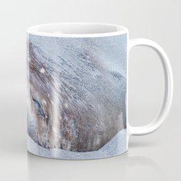 Sleeping elephant seal Coffee Mug