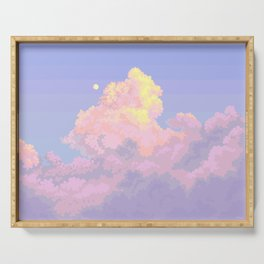 SUMMER CLOUDS Serving Tray