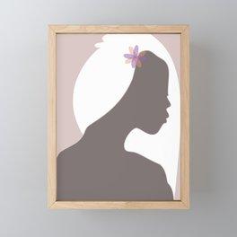 Simple precious Framed Mini Art Print