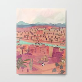 Ait ben Haddou, Morroco Metal Print