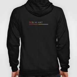 TR 909 Hi-Hat Retro Vintage Drum Machine Hoody