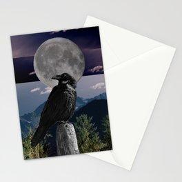 Raven Mood Stationery Cards