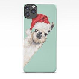 Christmas Sneaky Llama iPhone Case