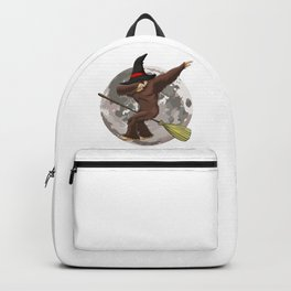Witch Bigfoot Funny Halloween Horror Scary Backpack