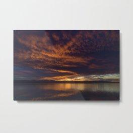 Nelson Sunset Metal Print