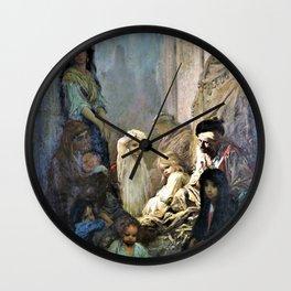 Gustave Dore - La Siesta, Memory Of Spain - Digital Remastered Edition Wall Clock