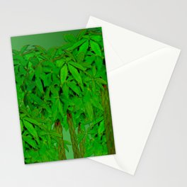 Synthetic forest ... Stationery Cards