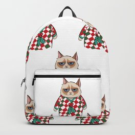 GC in Holiday Sweater 06 Backpack