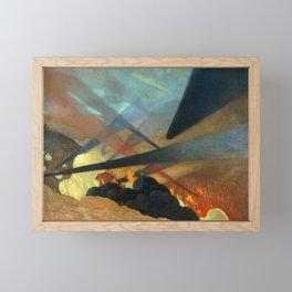 Verdun by Félix Vallotton - Colorful Les Nabis Art Framed Mini Art Print