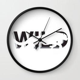 wild:hidden #2 Wall Clock