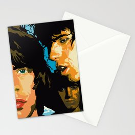 Rolling Stones Rock Album 1976 Stationery Cards