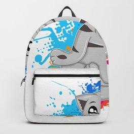 Cat Yoga Backpack