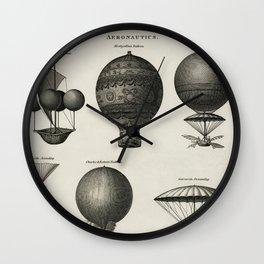 Aeronautics Wall Clock