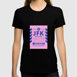 Baggage Tag D - JFK New York John F. Kennedy USA T-shirt