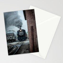 Strasburg Railroad Steam Engine #90 Vintage Train Locomotive Pennsylvania Stationery Cards