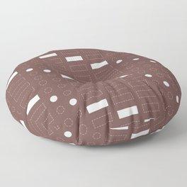Love Code // Plum Floor Pillow