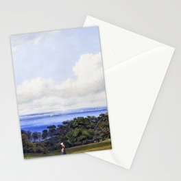 View From St John's, Near Ryde Isle Of Wight - William Turn Stationery Cards