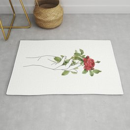 Flower in the Hand Rug