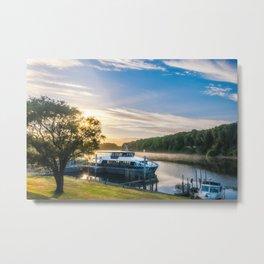 Sunrise Cruise to Doubtful Sound, New Zealand Metal Print