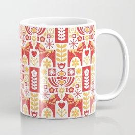 Swedish Folk Art_Mid-Century Modern Coffee Mug