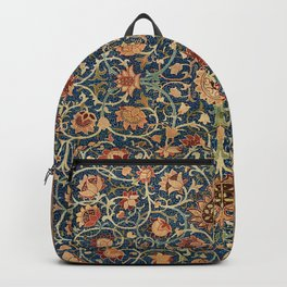 Holland Park Carpet by William Morris (1834-1896) Backpack
